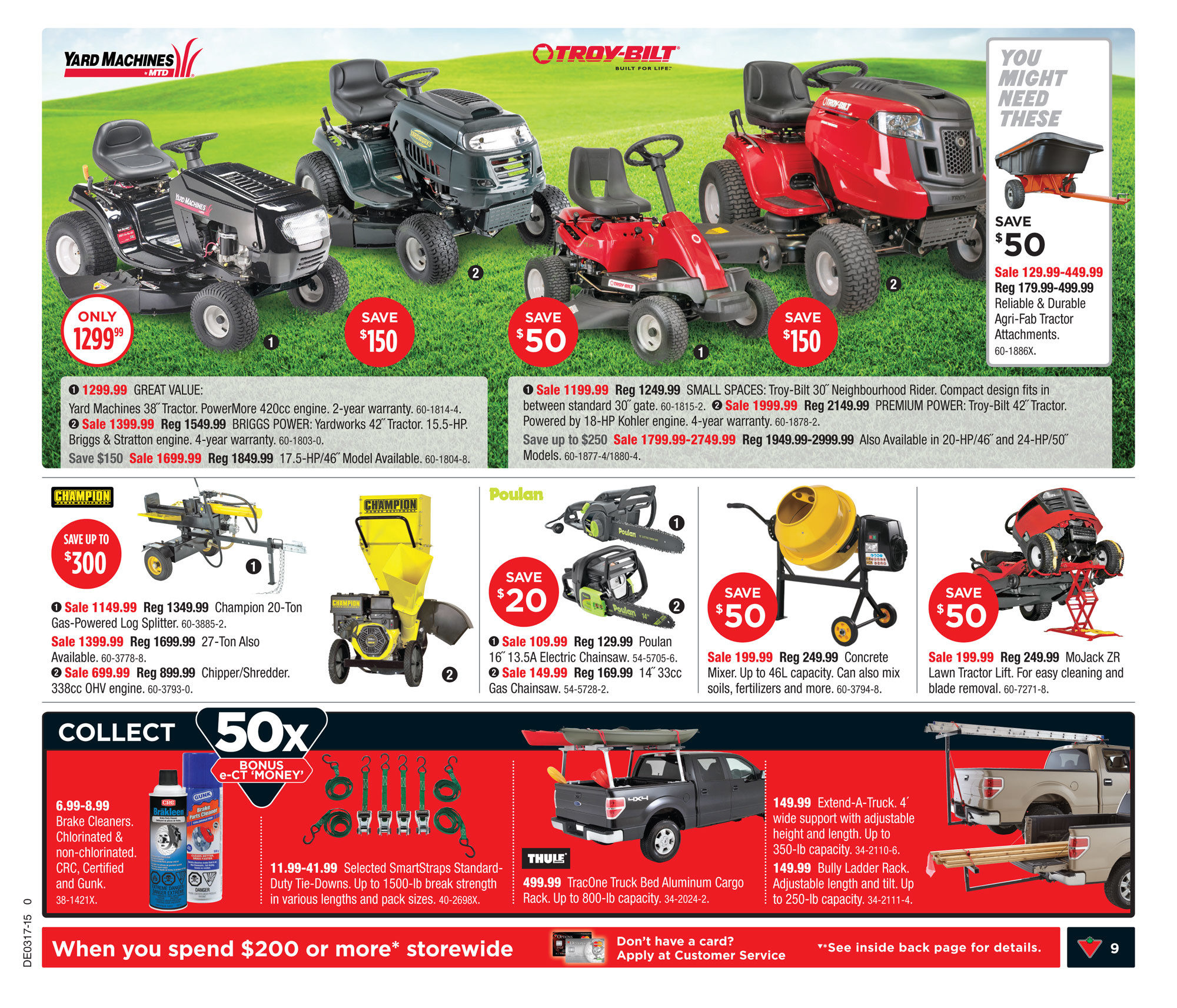Canadian Tire Weekly Flyer - Weekly Flyer - Apr 23 – 29