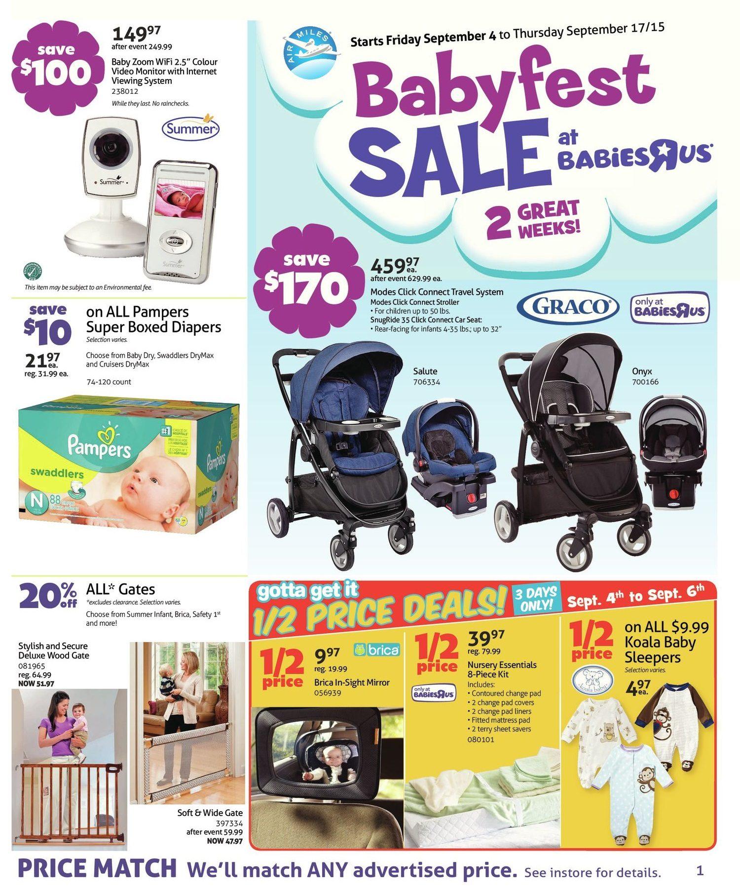 Babies R Us Weekly Flyer 2 Week