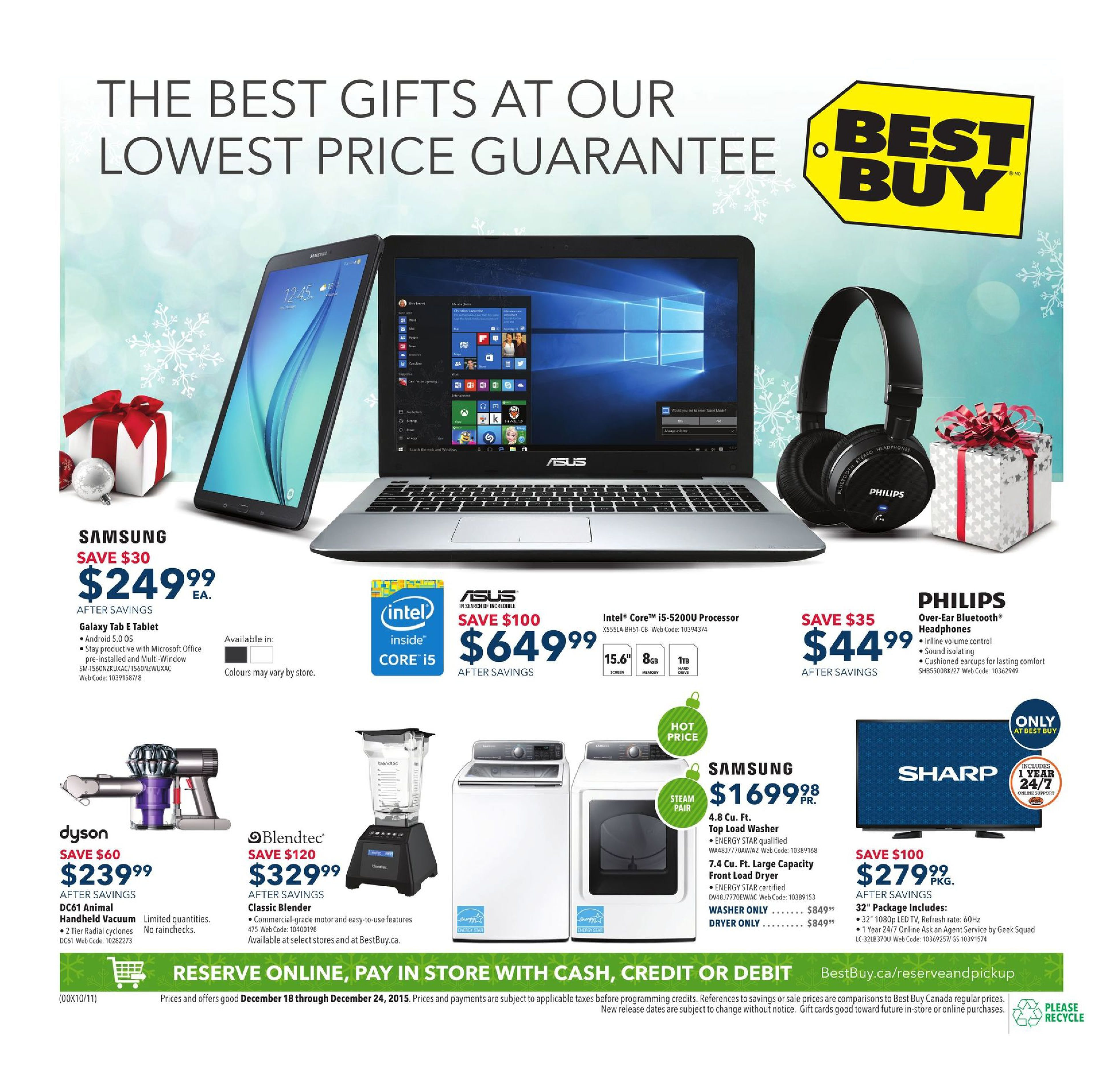 6940c9799f515e Best Buy Weekly Flyer - Weekly - There's Still Time to Get The Perfect Gift  - Dec 18 – 24 - RedFlagDeals.com