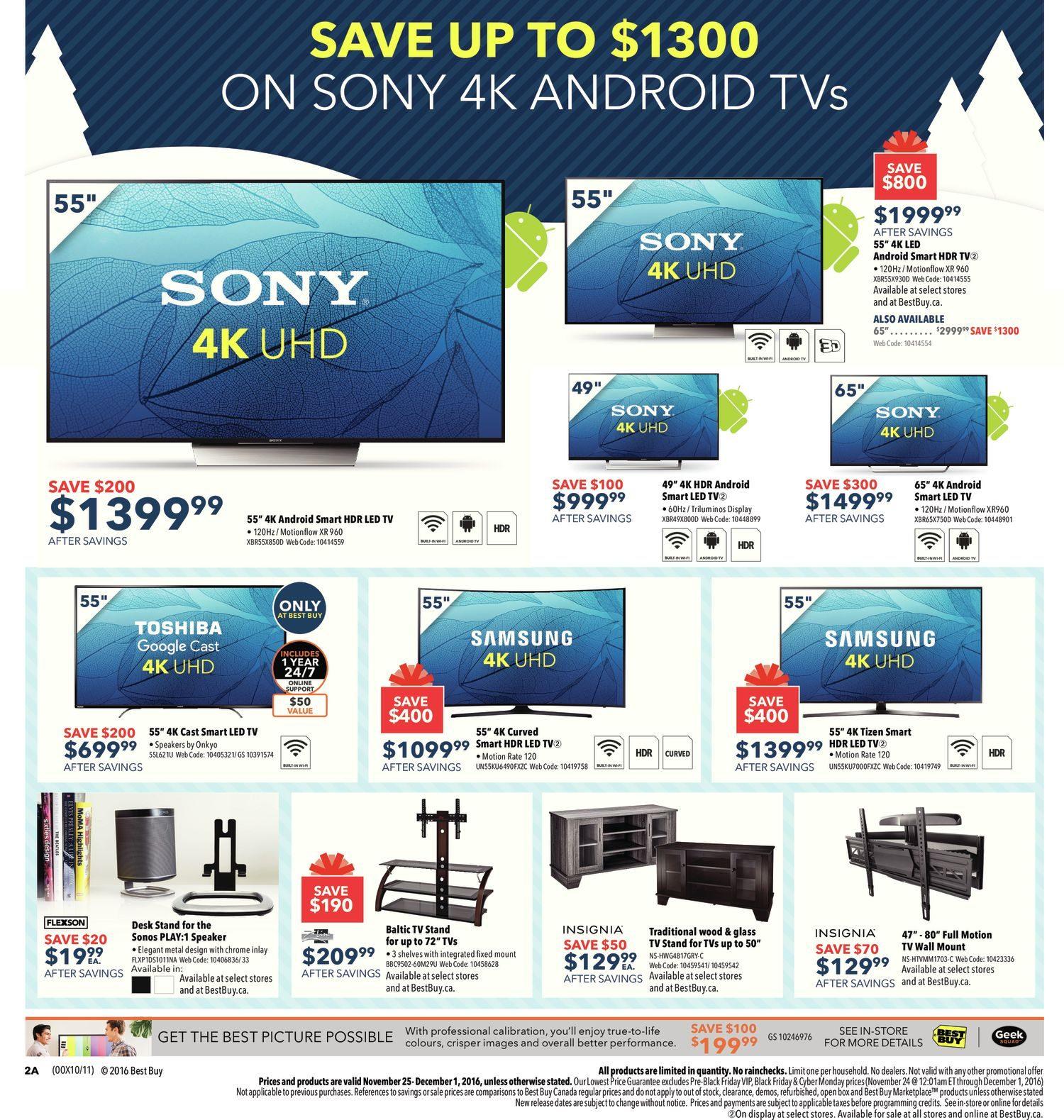 Best Buy Weekly Flyer - Weekly - Black Friday Sale - Nov 25 – Dec 1 ...