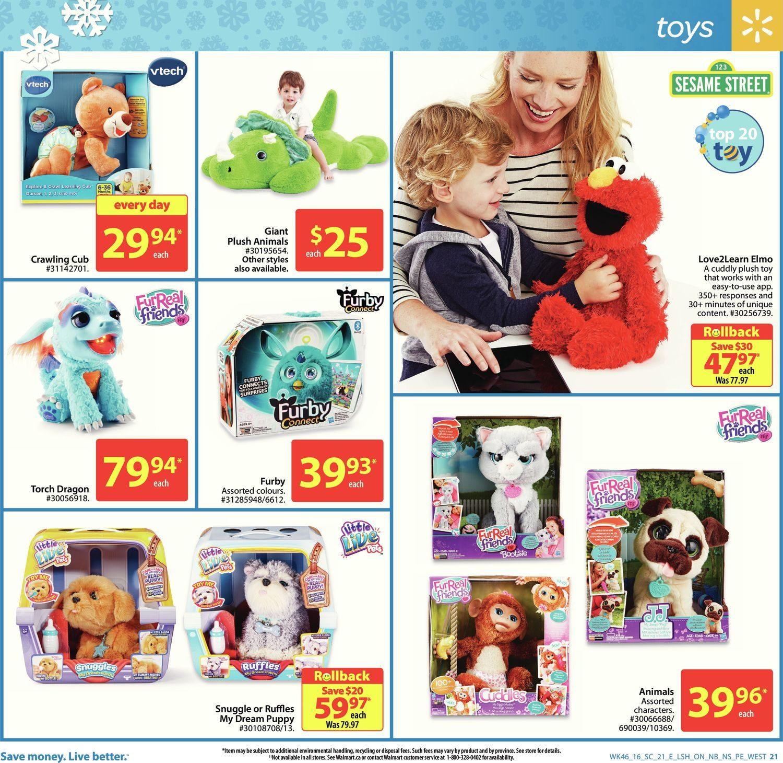 Walmart Weekly Flyer - Supercentre - Everything Holiday - Dec 8 – 14