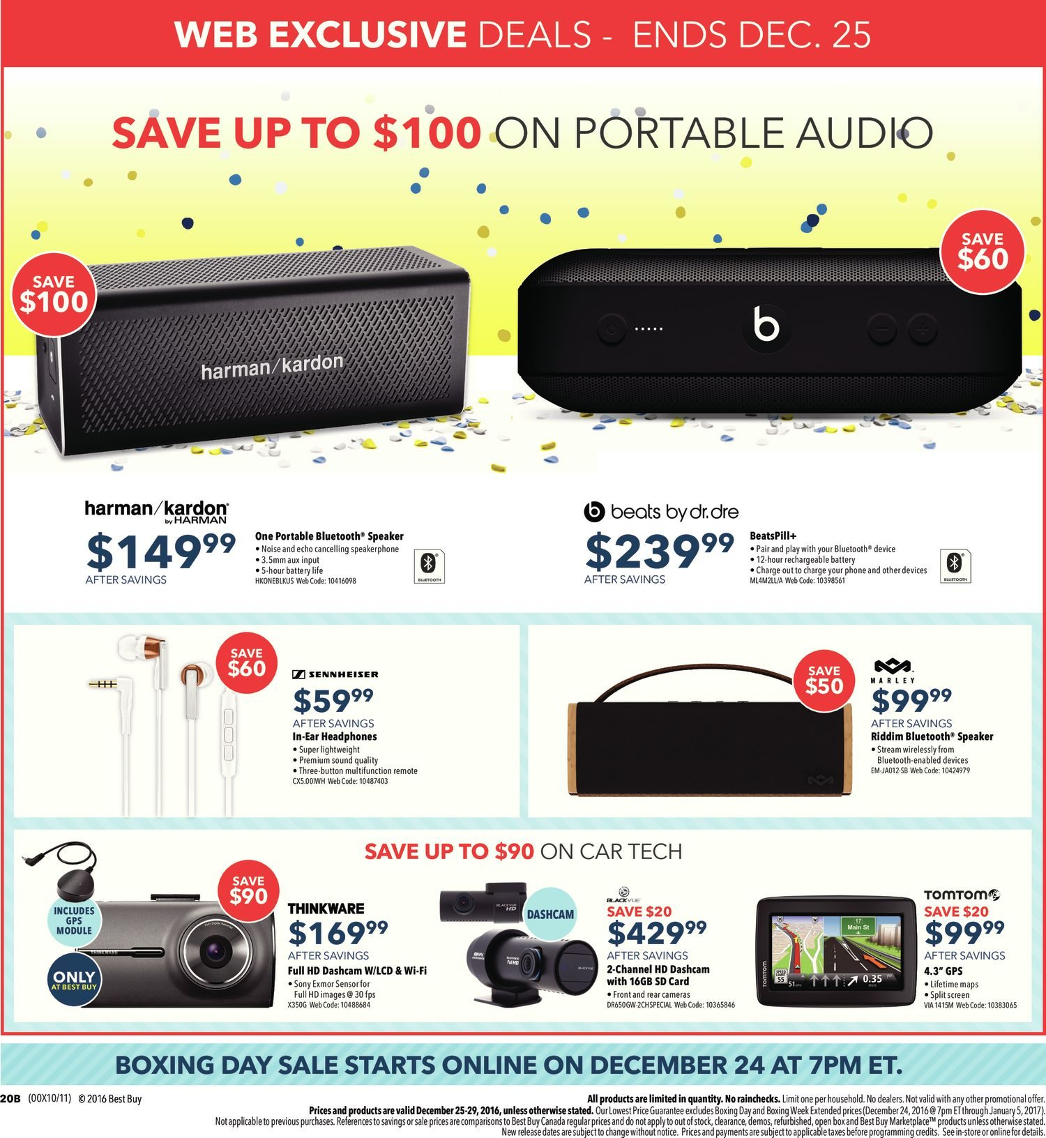 Best Buy Weekly Flyer Boxing Day Sale Dec 25 29 The Imageup To 100w Inverter 12 V 220v Circuit Homepage