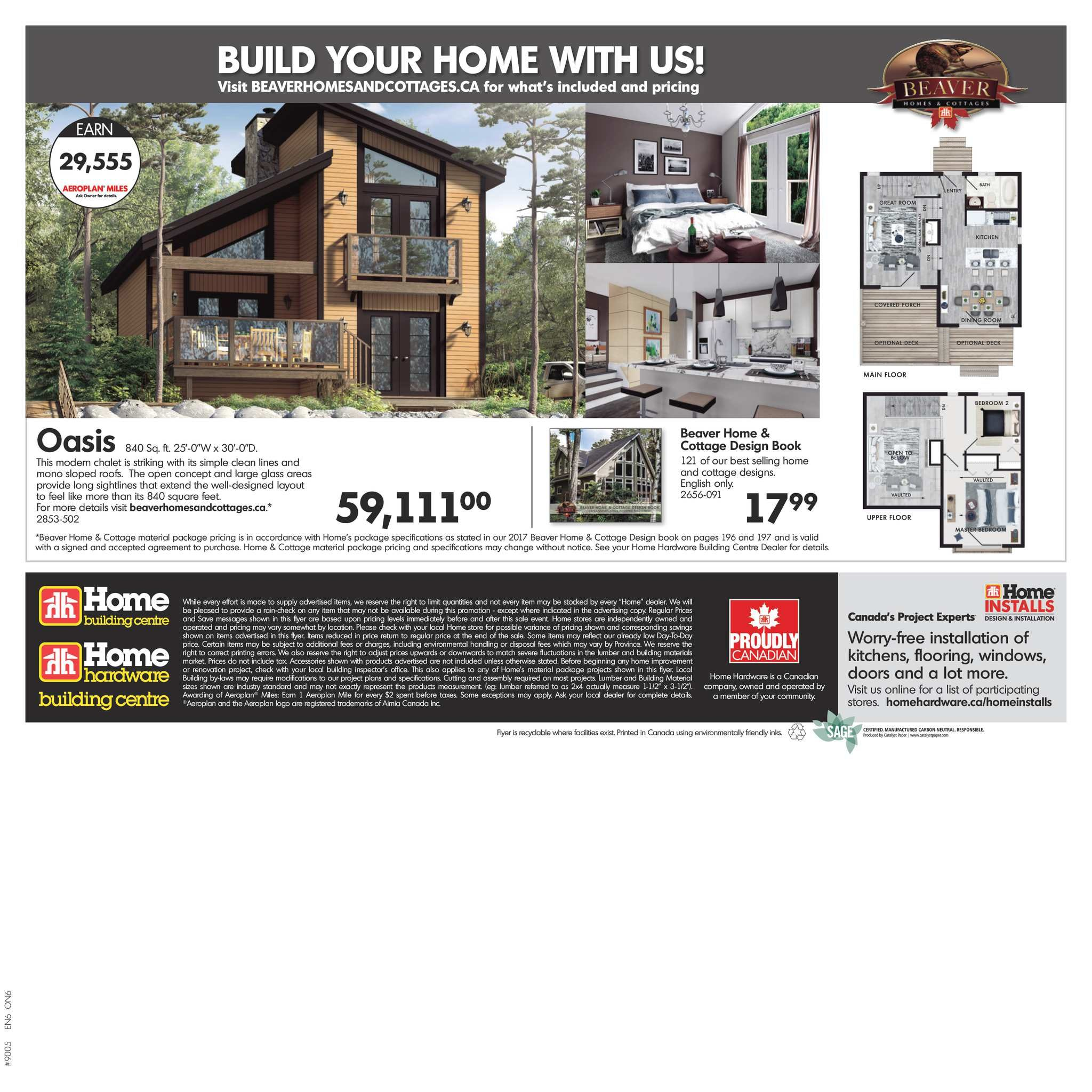 Home Hardware Weekly Flyer - Building Centre - Deck & Fence Event ...