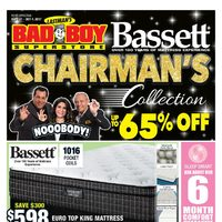 Bad Boy Furniture - Chairman's Collection - Up to 65% Off Flyer