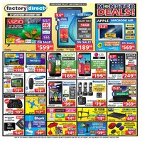 Factory Direct - Weekly - Monster Deals!  Flyer