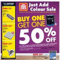 - Just Add Colour Sale Flyer