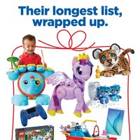 - Toy Book - Their Longest List, Wrapped Up Flyer