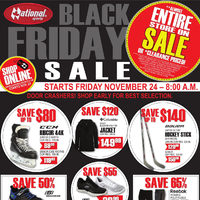 National Sports - Black Friday Sale Flyer