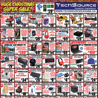 Tech Source - Huge Christmas Super Sale! Flyer