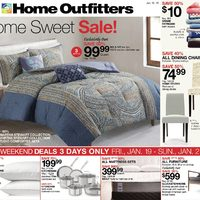 Home Outfitters - Weekly - Home Sweet Sale! Flyer