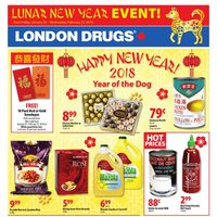 London Drugs - Lunar New Year Event! Flyer