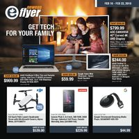 Newegg - Get Tech For Your Family Flyer
