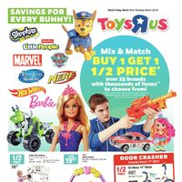 Toys R Us - Weekly - Savings for Every Bunny! Flyer