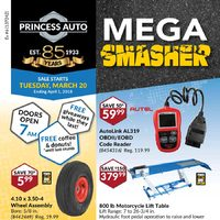 Princess Auto - Mega Smasher Flyer