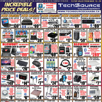 Tech Source - Incredible Price Deals! Flyer