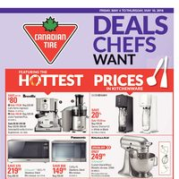 - Weekly - Deals Chef Want & Happy Spring! Flyer