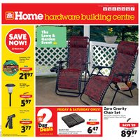 Home Hardware - Building Centre - The Lawn & Garden Event Flyer