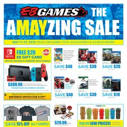 EB Games - The Amayzing Sale Flyer