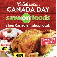 Save On Foods - Weekly Specials - Celebrate Canada Day Flyer