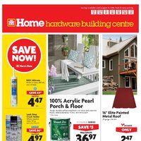 Home Hardware - Building Centre - Save Now! Flyer
