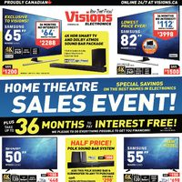 - Weekly - Home Theatre Sales Event! Flyer