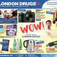 London Drugs - 6 Days of Savings - Wow! Flyer