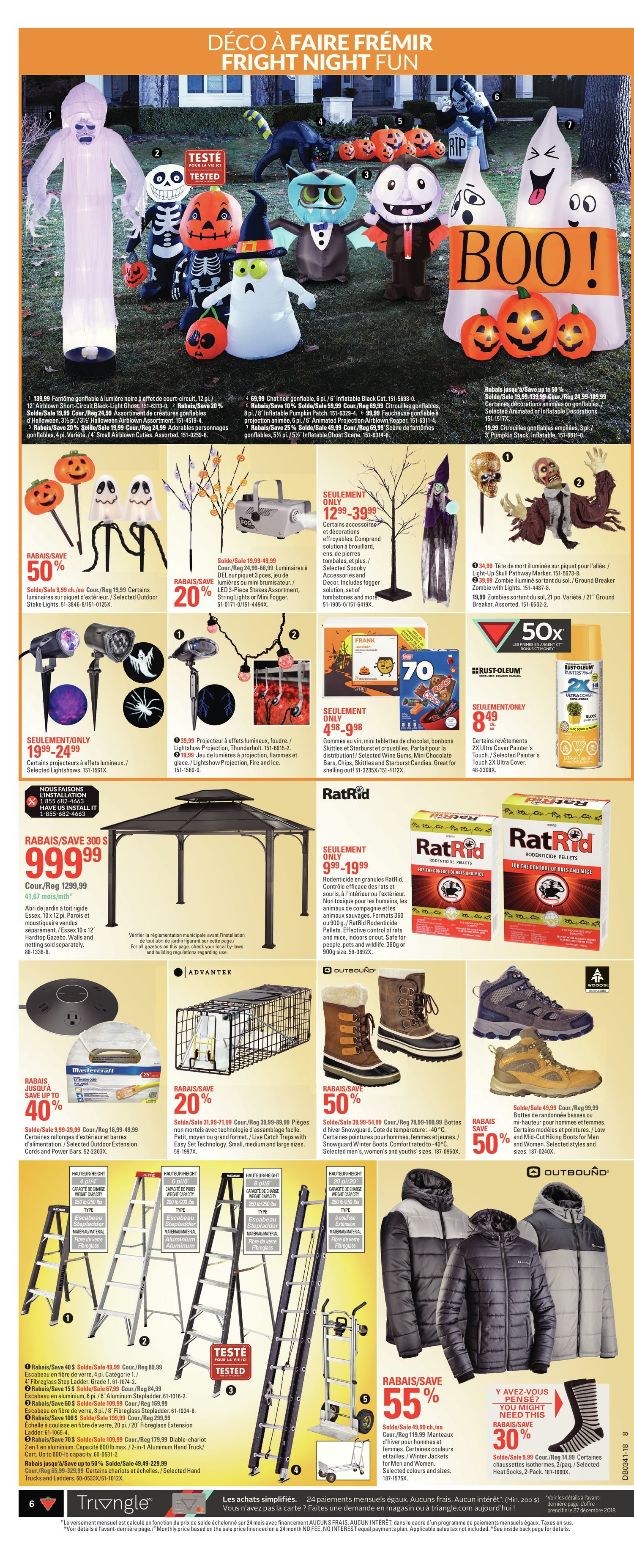 Canadian Tire Weekly Flyer Weekly Thanksgiving Deal Fest Oct 4