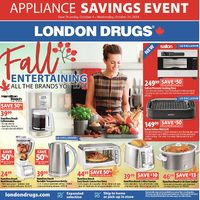 London Drugs - Appliance Savings Event! Flyer