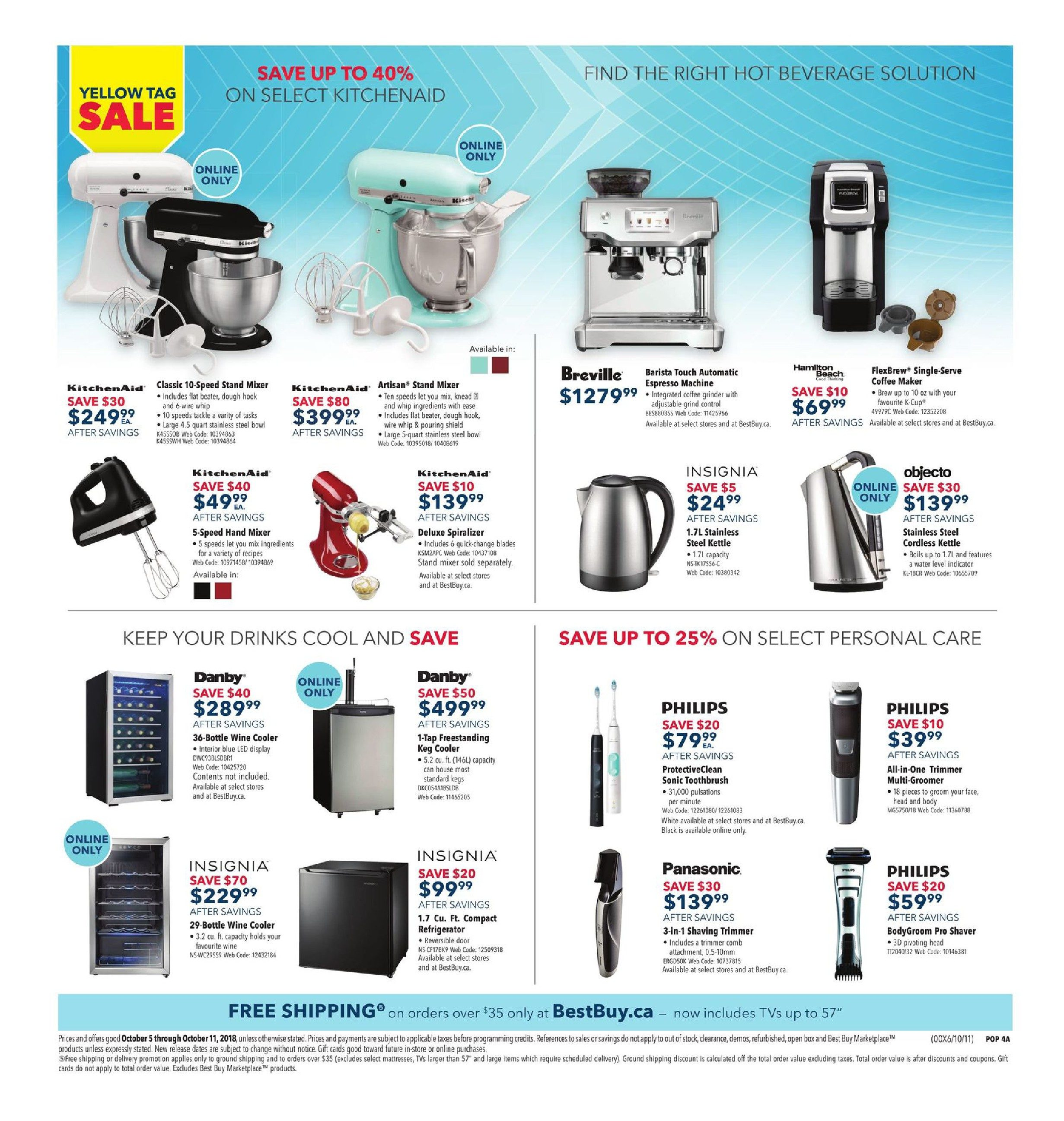 Best Buy Weekly Flyer Yellow Tag Sale Oct 5 11 Wifienabled Rgb Led Strip Controller Stavros39 Stuff
