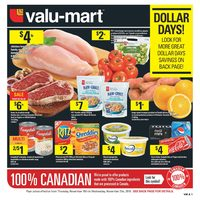Valu-Mart - Weekly - Dollar Days Flyer