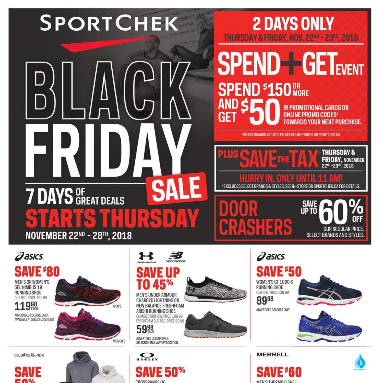 Sport Chek Weekly Flyer - Black Friday