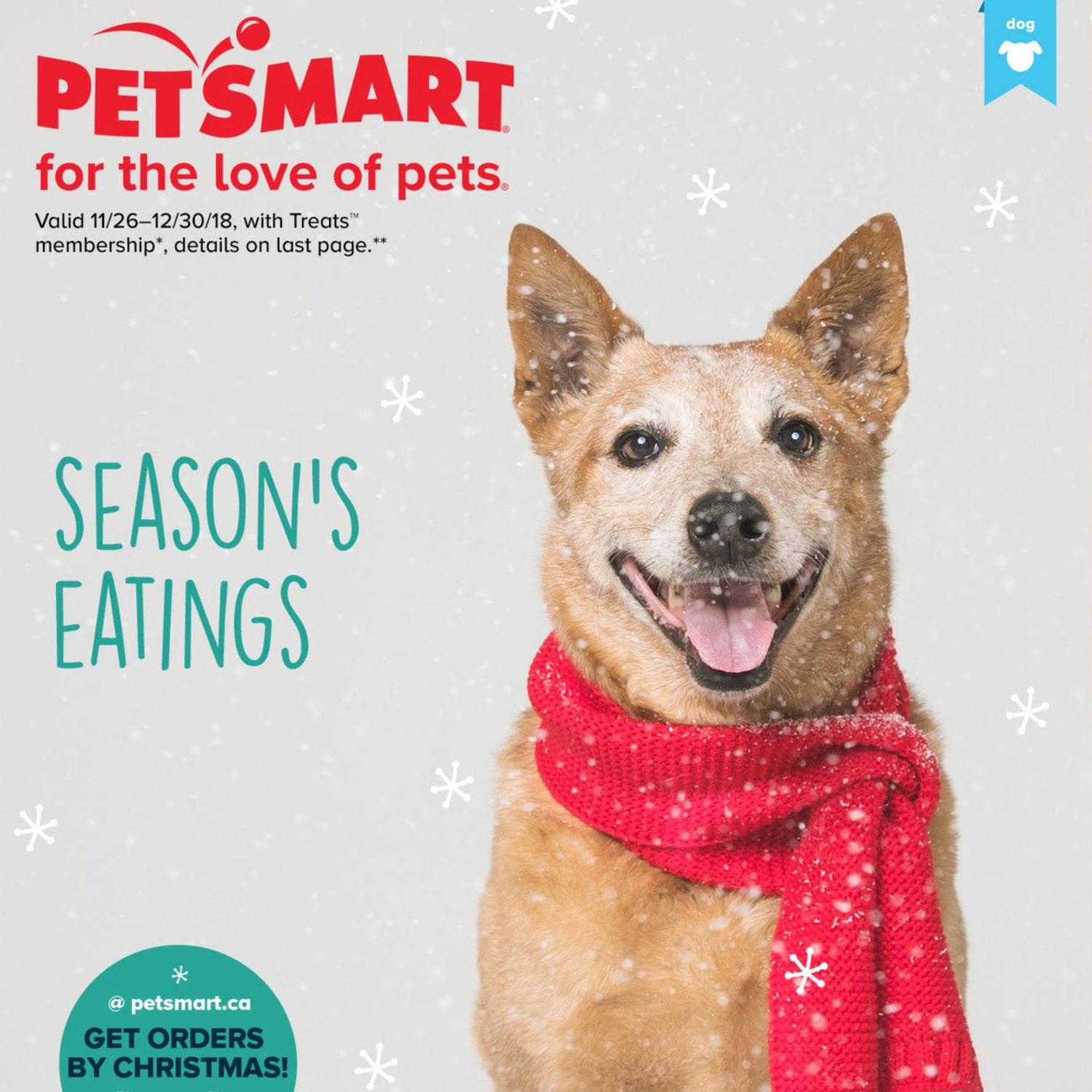 Petsmart Christmas Hours.Petsmart Weekly Flyer Treats Membership Only For The