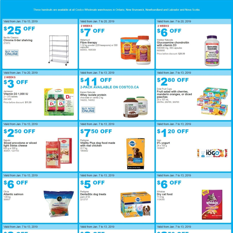 6b5ee487a9 Costco Weekly Flyer - Great Savings - Jan 7 – 13 - RedFlagDeals.com
