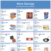 Costco - Business Centre Only - More Savings Flyer