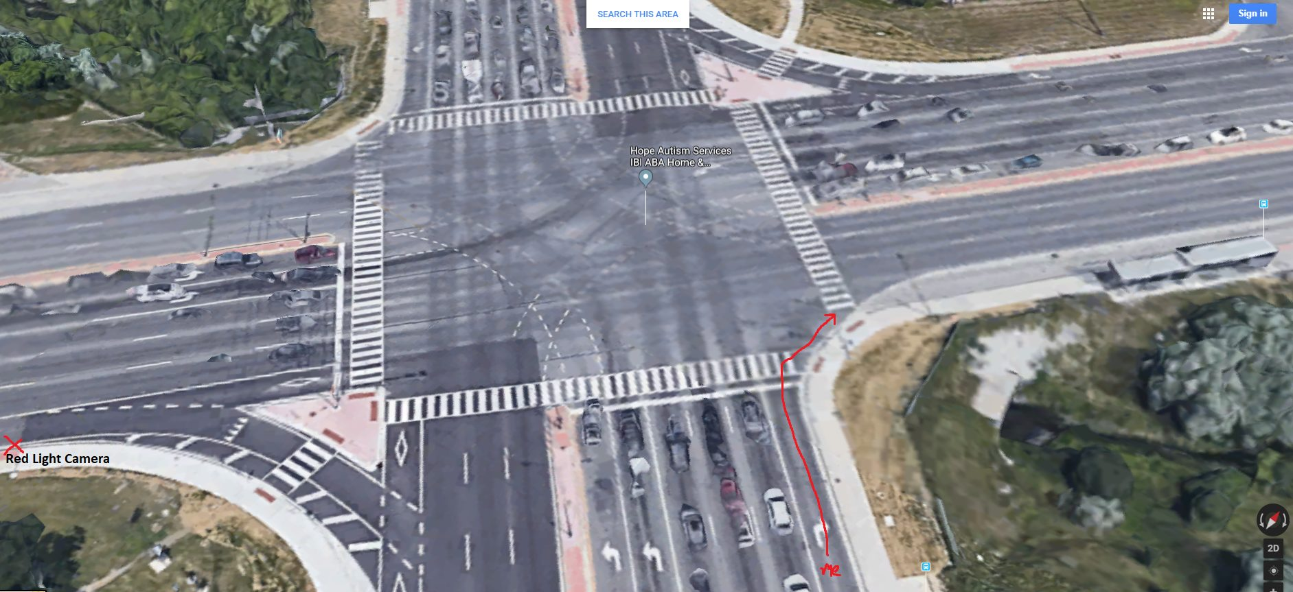 Red Light Camera Question Right Turn Redflagdeals Com Forums