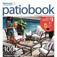 Walmart - Patio Book Flyer