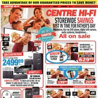 Centre HIFI - Weekly - Storewide Savings Flyer