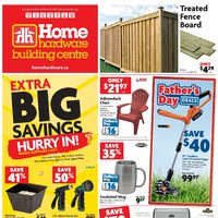 Home Hardware - Building Centre - Father's Day Deals Flyer
