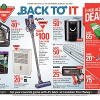 Canadian Tire Flyer - Burnaby, BC - RedFlagDeals com
