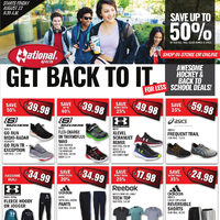 National Sports - Get Back To It For Less Flyer