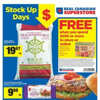 Real Canadian Superstore - Weekly - Stock Up Days Flyer