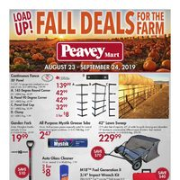 PeaveyMart - Fall Deals For The Farm Flyer
