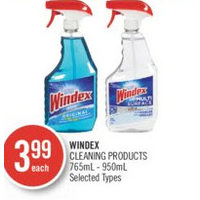 Windex Cleaning Products