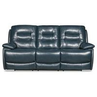 90'' Orry Genuine Leather Power Reclining Sofa
