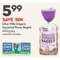 Silver Hills Organic Sprouted Power Bagels