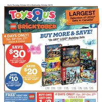 Toys R Us - Weekly - Bricktober Flyer
