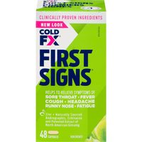 Cold FX or Cold FX First Signs Cold Products