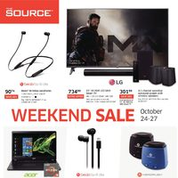 The Source - Weekend Sale Flyer