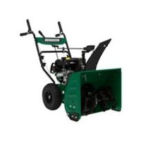 "Certified 24"" 224cc 2-Stage Gas Snowblower with Electric and Manual Start"