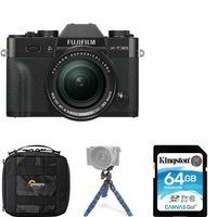 Fujifilm X-T30 Camera With XF 18-55 MM Lens Kit, Plus Bag, Memory Card And Tripod